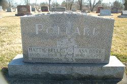 Hattie Bell <I>Moore</I> Pollard