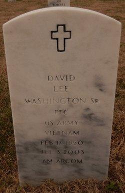 David Lee Washington, SR