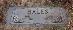 Rose Marie <I>Hugg</I> Hales