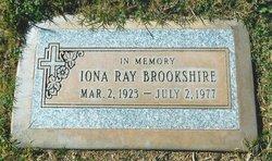 Iona Lee <I>Ray</I> Brookshire