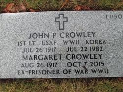 John P Crowley