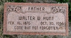 Walter Woodley Hunt