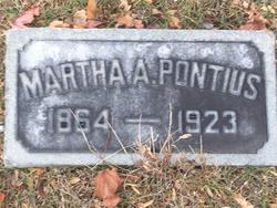 Martha A <I>Heilman</I> Pontius