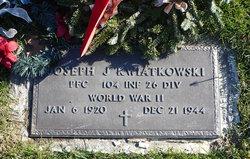 PFC Joseph John Kwiatkowski