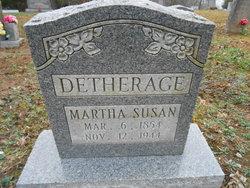 Martha Susan Detherage