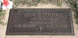 Wade D. Taylor
