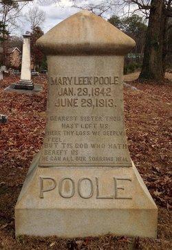Mary Leek Poole