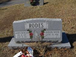 Alden Duncan Rodes