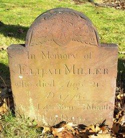 1LT Elijah Miller