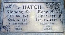 Rose S Hatch