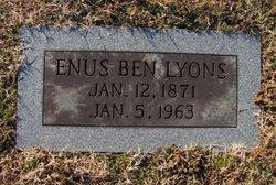 Enus Benjamin Lyons