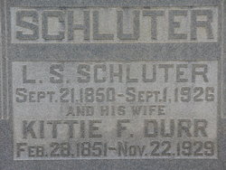 Kittie <I>Durr</I> Schluter