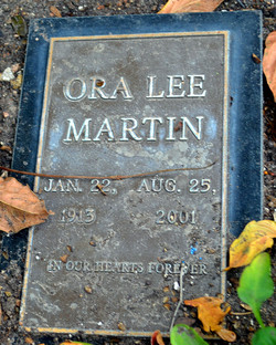 Ora Lee <I>Cliburn</I> Martin