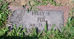 Peggy J. Fox