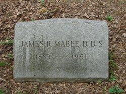 Dr James Robert Mabee