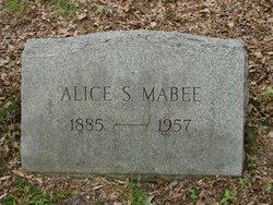 Alice <I>Smith</I> Mabee