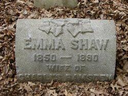 Emma <I>Shaw</I> Ramsden