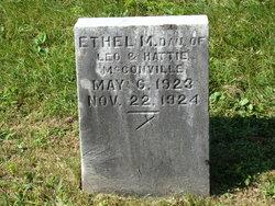 Ethel M McConville