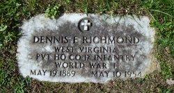 Pvt Dennis E. Richmond