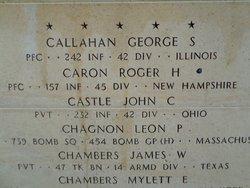 PFC Roger Harold Caron