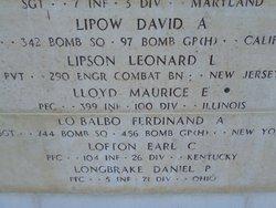 PFC Maurice E Lloyd
