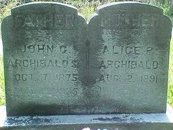 Alice Powers <I>Clinton</I> Archibald