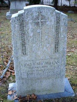 """Violet Iola """"Vi"""" <I>MacMillan</I> Folger"""