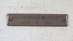 Lois <I>Hudson</I> Bartlett