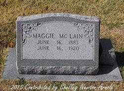 Margaret Frances <I>Jenkins</I> McLain