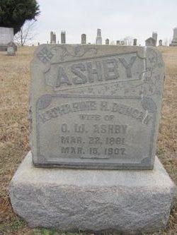 "Kathryn Hill ""Katie"" <I>Duncan</I> Ashby"