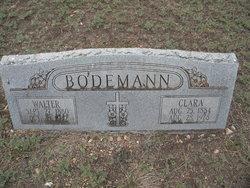 Clara <I>Fritz</I> Bodemann