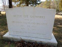 Bessie Lee <I>Saunders</I> Baggett
