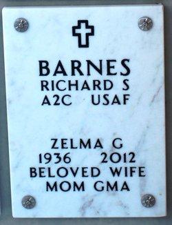 Zelma Grace <I>Hartman</I> Barnes