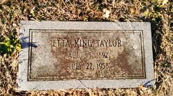 Etta <I>King</I> Taylor