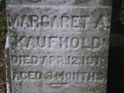 Margaret A Kaufhold 1912 1913