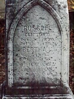 Bertha Lemira <I>Stevens</I> Russell
