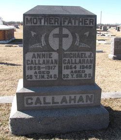 Annie <I>Coman</I> Callahan