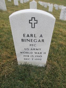 Earl A Binegar