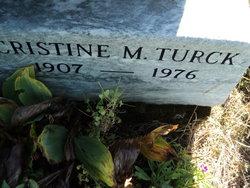 Cristine M. <I>Kampney</I> Turck