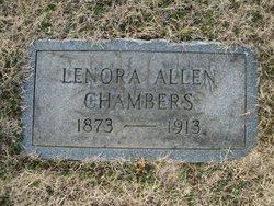 Lenora <I>Allen</I> Chambers