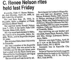 Cleda Renee <I>Hatch</I> Nelson