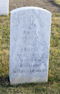 John S Defina