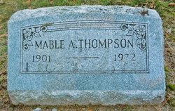 Mable A <I>Chevalier</I> Thompson
