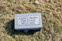 Ralph I Brown