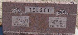 """Flora Olivia """"Ollie"""" <I>Fleming</I> Nelson"""
