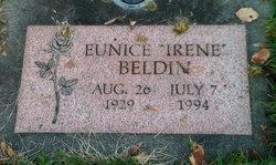 """Eunice Irene """"Irene"""" <I>Fortner</I> Beldin"""