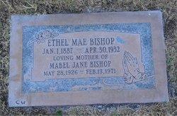 Ethel Mae <I>Dixon</I> Bishop