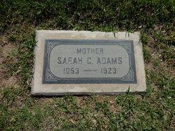 Sarah Clementine <I>McLoud</I> Adams