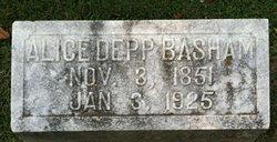 Alice B <I>Depp</I> Basham