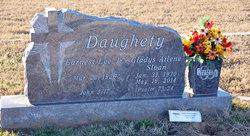 Gladys <I>Sloan</I> Daughety